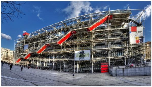 I primi quarant'anni del Centre Pompidou di Parigi