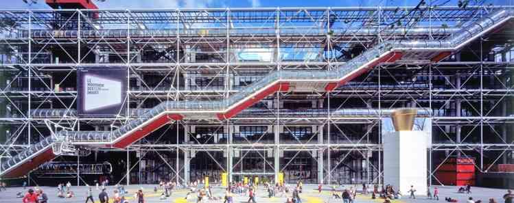 compleanno del Centre Pompidou