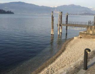 lago maggiore livello acqua