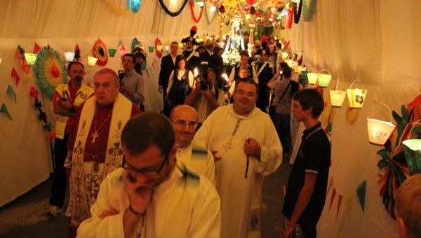 VCO: Luzzogno, la processione della Madonna della Colletta