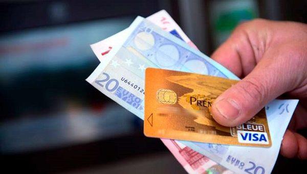 Contanti, conti in banca e carte prepagate