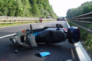 Risarcimento per incidente in moto